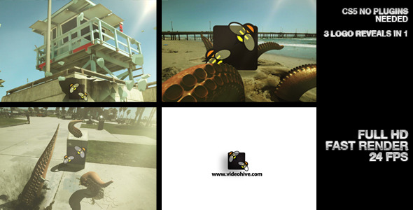 VideoHive Tentacle Logo Reveals 2564107