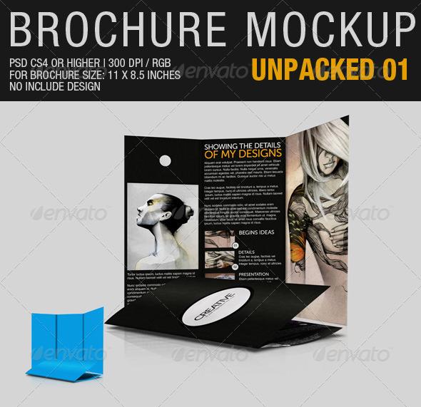 GraphicRiver Brochure Mockup Unpacked 01 2564162