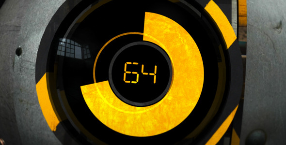 After Effects Project - VideoHive Industrial Hydraulic Logo Reveal 287231
