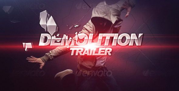After Effects Project - VideoHive Demolition Trailer 2567069