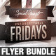 Unforgettable Fridays Flyer Bundle - GraphicRiver Item for Sale