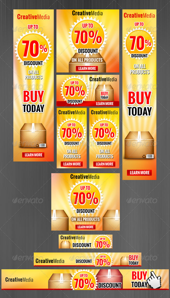 GraphicRiver Banners Set 2572103