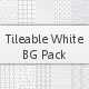 Tileable White Background Pack - GraphicRiver Item for Sale