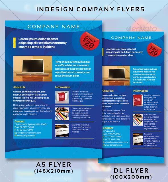 GraphicRiver Company Flyers 93574