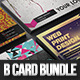Creative Business Card Bundle II 4 in 1 - GraphicRiver Item for Sale