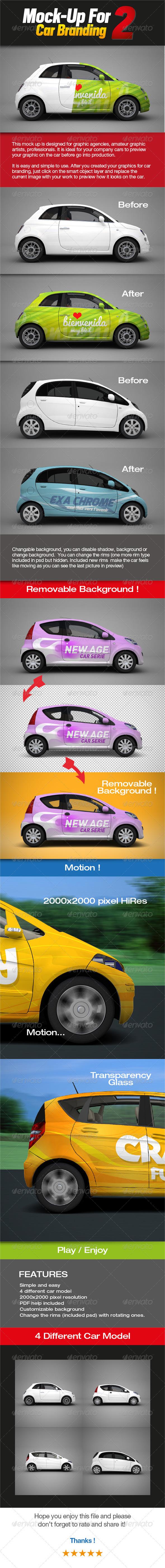 GraphicRiver Mock-up for Car Branding 2 2561612