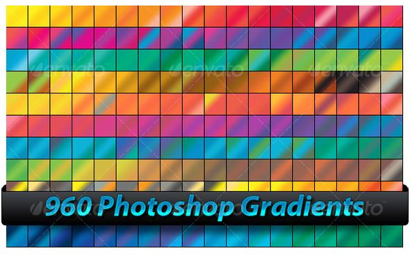 GraphicRiver Photoshop Gradients 93677