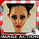 Caricature Drawing and Painting Image Action - GraphicRiver Item for Sale