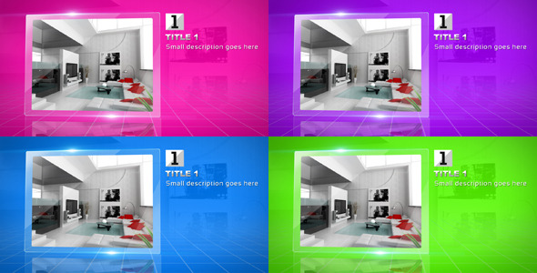 After Effects Project - VideoHive Glass Video Display 2579937