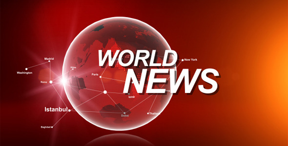 After Effects Project - VideoHive World News Opener 2548593