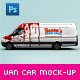 Van & Delivery Cars Branding Mockup - GraphicRiver Item for Sale
