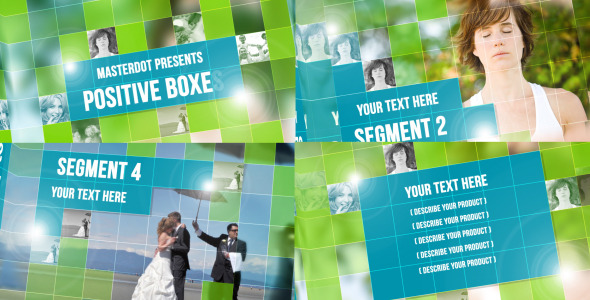 After Effects Project - VideoHive Positive Boxes 2572568