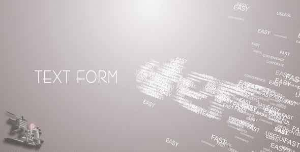 VideoHive Text Form 2585375