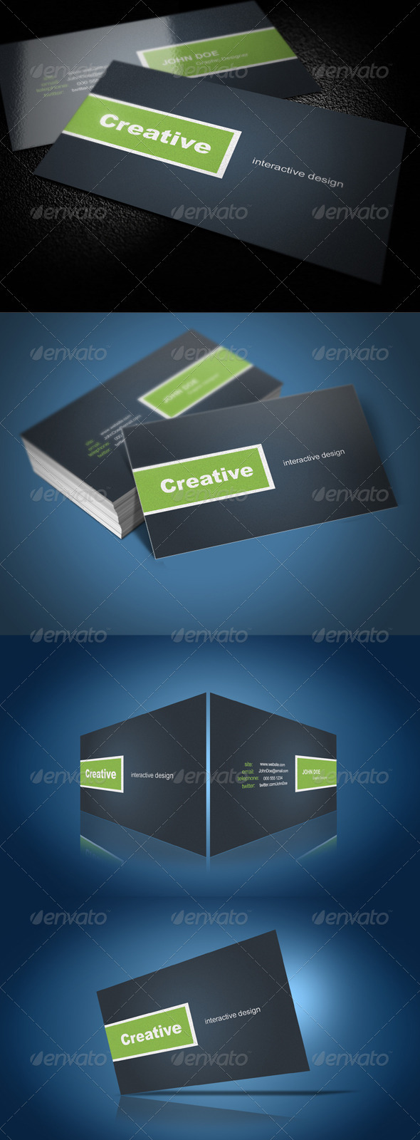 Graphic River  Modern Business Card Print Templates -  Business Cards  Corporate 289485