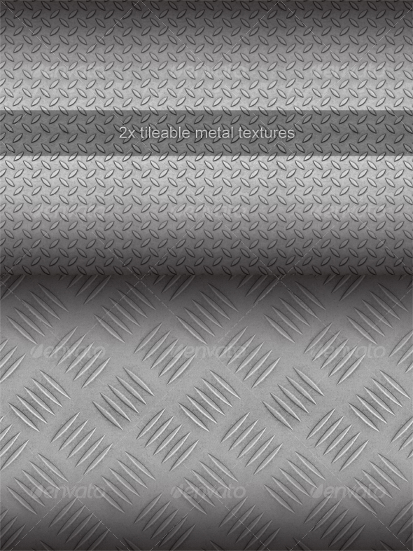GraphicRiver Tileable Metal Texture Pack 93973