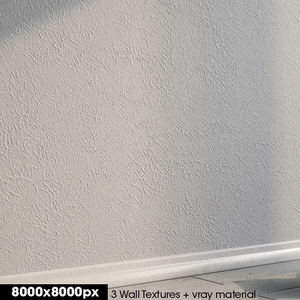3DOcean 3 Wall textures & vray material 2586433