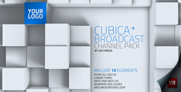 VideoHive Cubica Broadcast channel pack 2586455