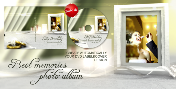 VideoHive Best Memories Photo Album 2574750