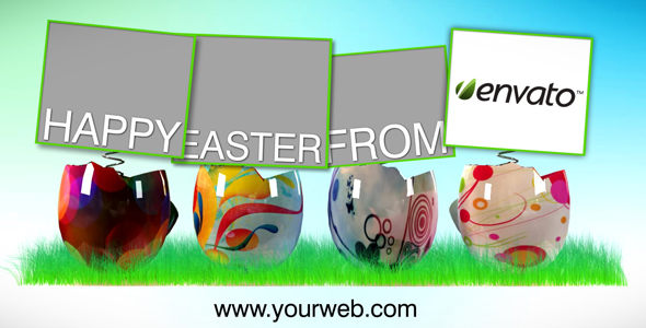 After Effects Project - VideoHive Easter Time Video Ecard AE CS4 Project 93993