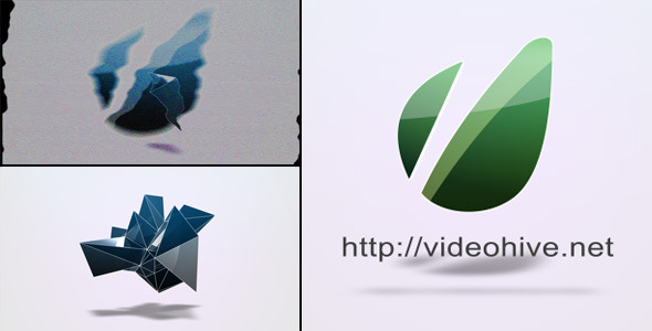 VideoHive Noise Logo Intro 2590246