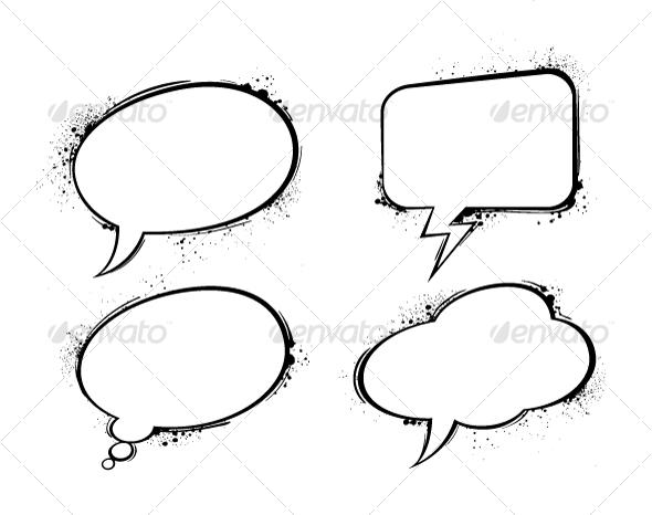 GraphicRiver chat bubbles 94113