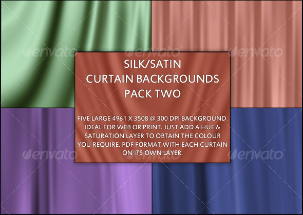 GraphicRiver Silk Satin texture Background Pack Two 94154