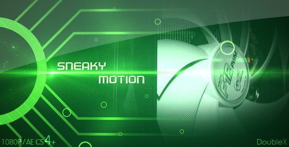 After Effects Project - VideoHive Sneaky Motion 2592717
