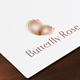 Butterfly Rose Logo - GraphicRiver Item for Sale
