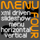 MenuFour - XML slideshow menu - ActiveDen Item for Sale