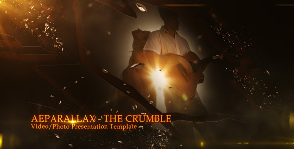 After Effects Project - VideoHive The Crumble Video Photo Presentation 2596506