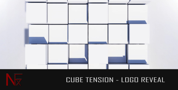 VideoHive Cube Tension Logo Reveal 2597546