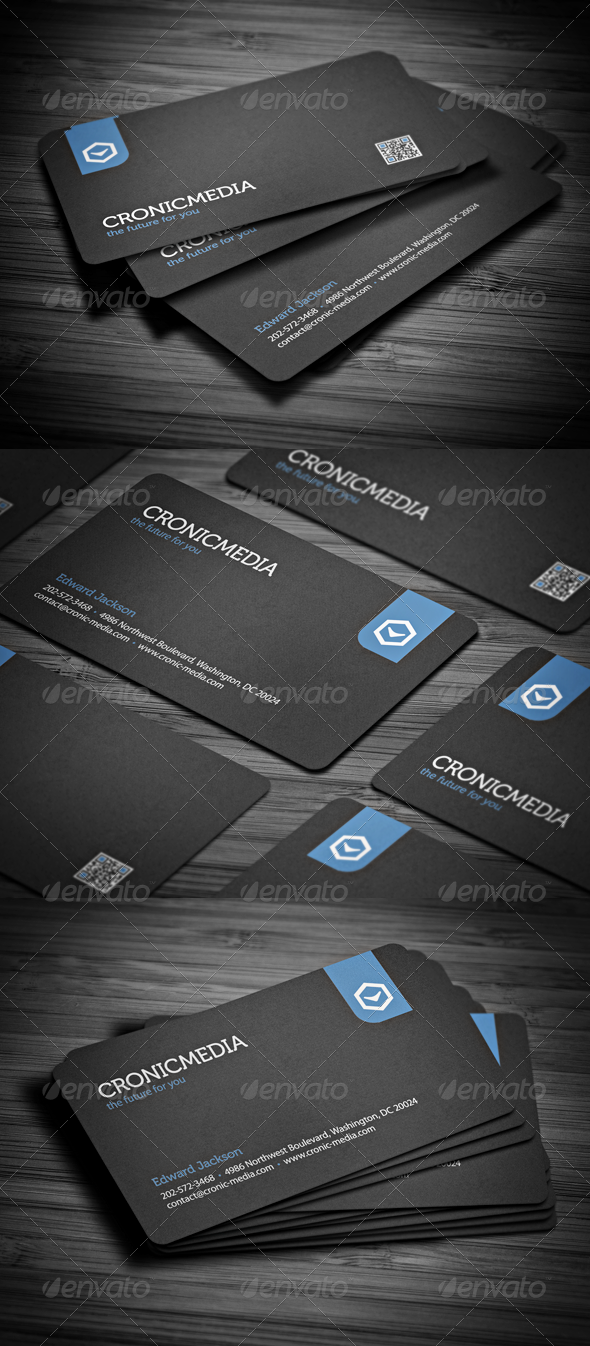 GraphicRiver Stylish Corporate Business Card 2597585