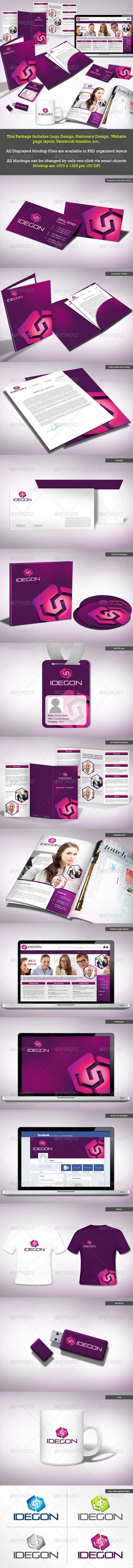 GraphicRiver Idegon Corporate Identity Package 2478292