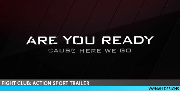 After Effects Project - VideoHive Fight Club Action Sport Trailer 2600493