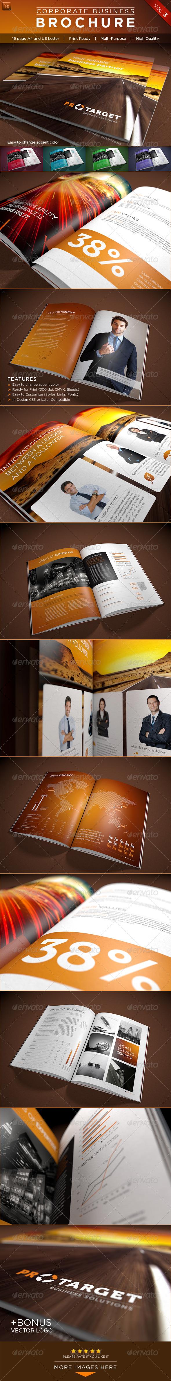 GraphicRiver Corporate Business Brochure Vol 3 2605051