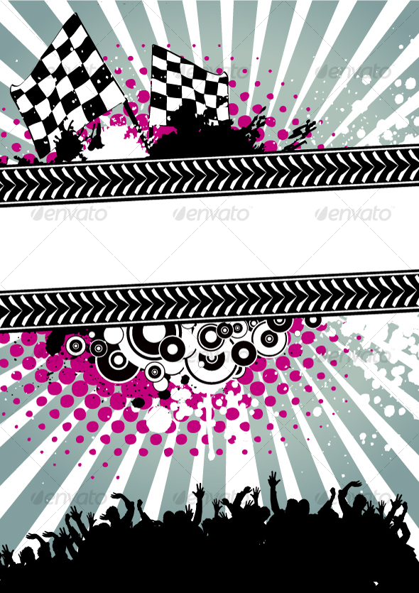 GraphicRiver Poster for racing 94558