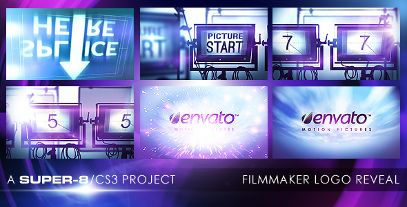 After Effects Project - VideoHive Filmmaker Logo Reveal 2605763