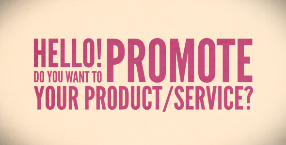 After Effects Project - VideoHive Promote Your Product Service with Fresh T ...