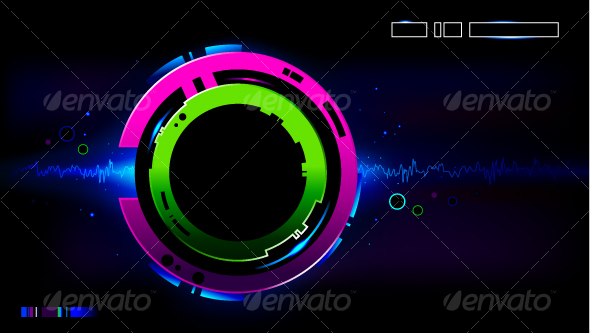 GraphicRiver Cool modern background 94617