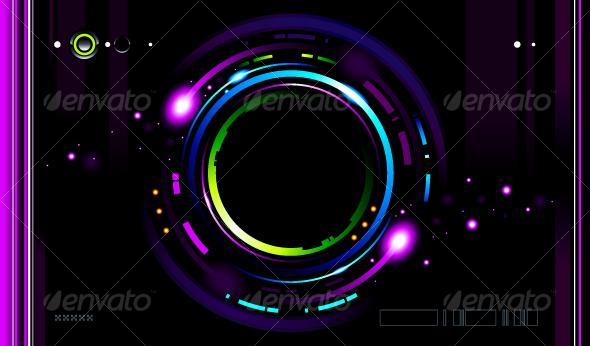 GraphicRiver Cool futuristic background 94621