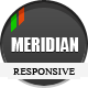 Meridian Responsive WordPress Theme - ThemeForest Item for Sale