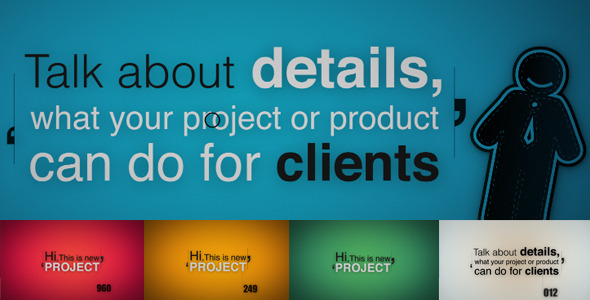 After Effects Project - VideoHive Project Product Or Service Promotion 2610 ...
