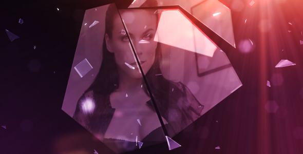 After Effects Project - VideoHive Broken Glass 94696