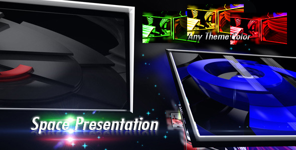 After Effects Project - VideoHive Space Presentation 2531573
