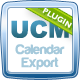 UCM Plugin: Calendar iCal / Google Calendar Export - CodeCanyon Item for Sale