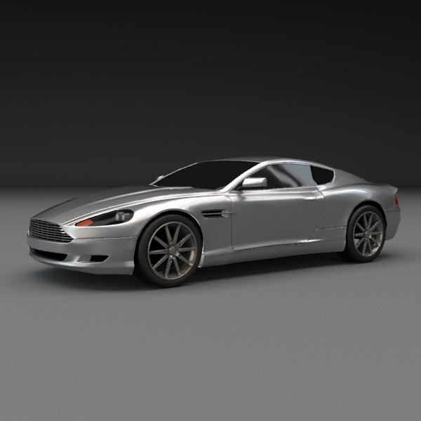 Aston Martin Db9 2004 3d Model: 3D Models - Aston Martin Db9 Coupe Car