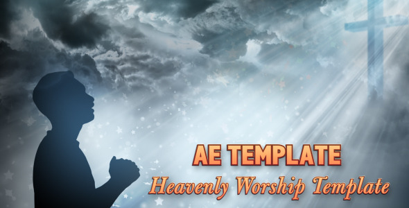 After Effects Project - VideoHive Worship Heaven Title Opener 2603844