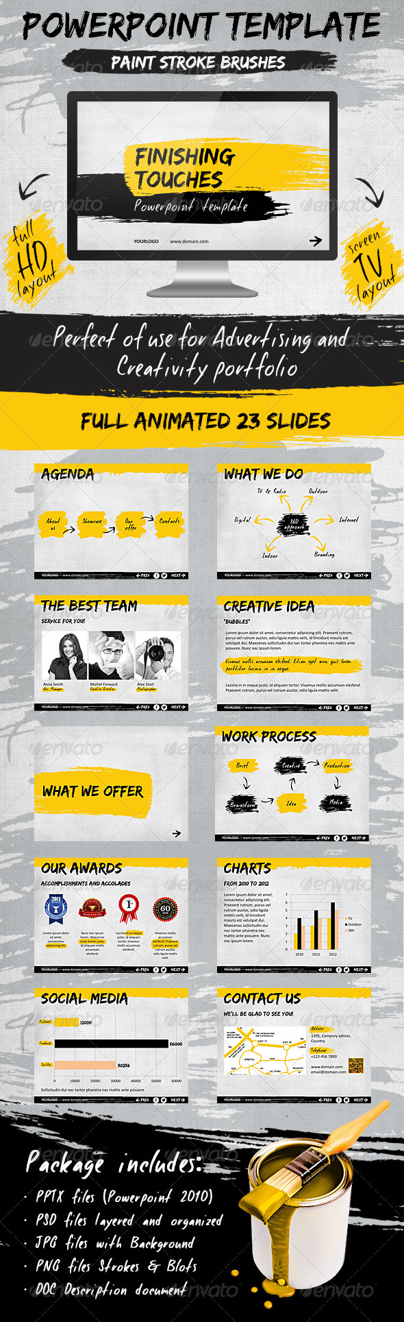 GraphicRiver Finishing Touches Template 2616107