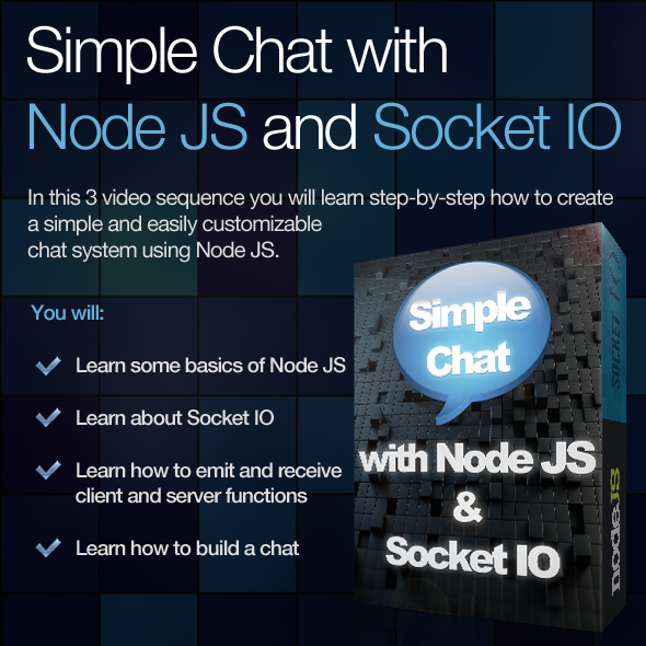 TutsPlus Simple Chat with Node JS and Socket IO 2616470
