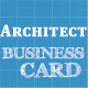 Architect Business Card - GraphicRiver Item for Sale